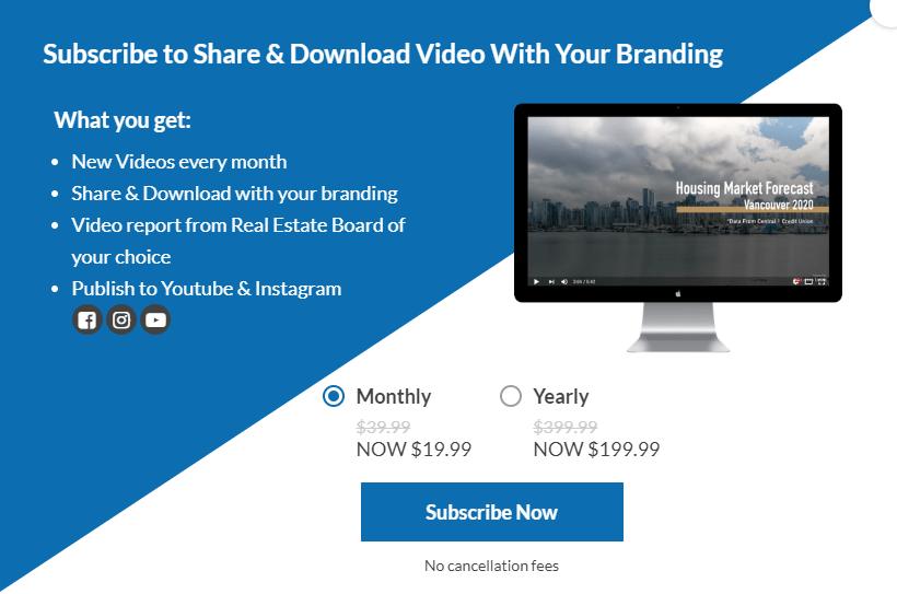 Profile video download