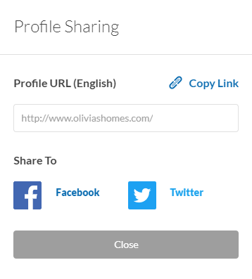 agent profile sharing