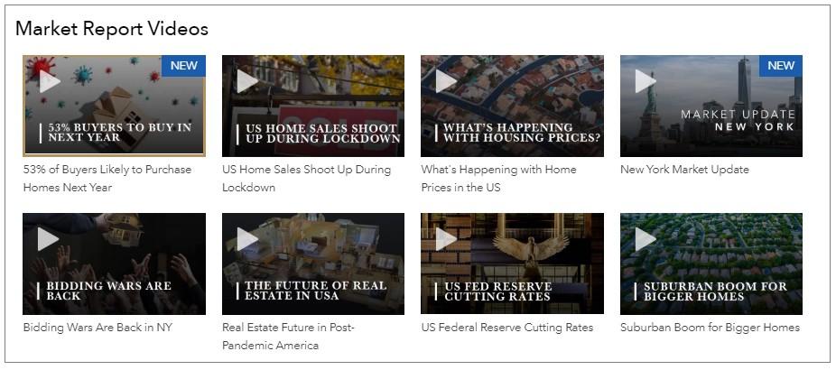 Market Report videos