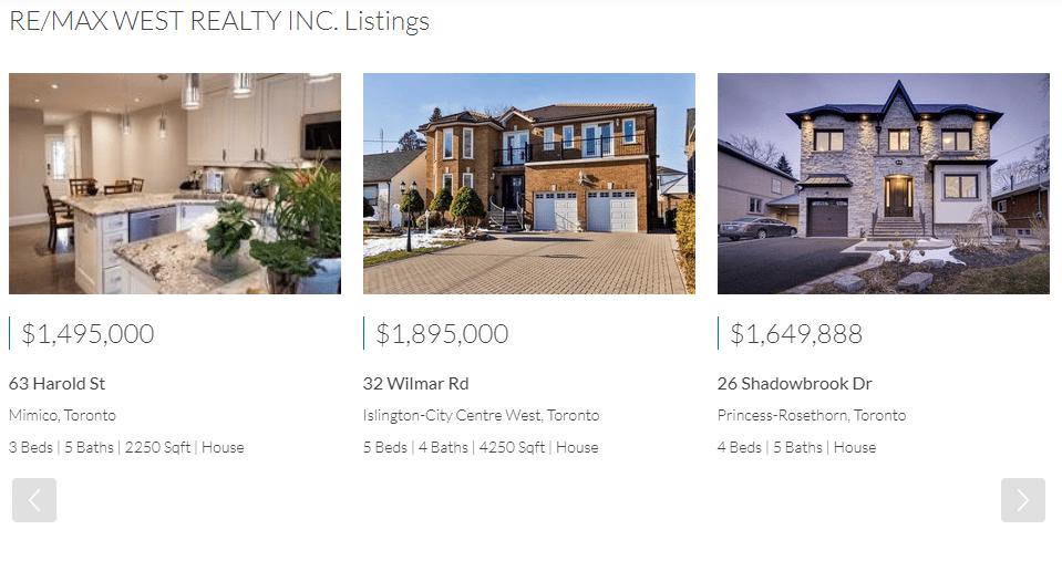 brokerage listings