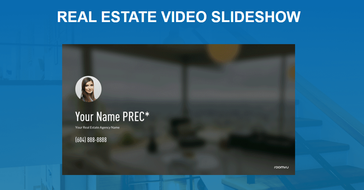 real estate Video Slideshow