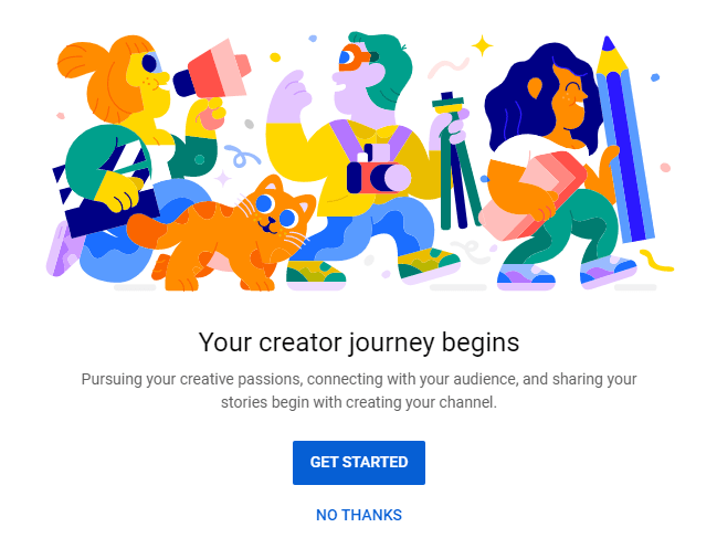 your creator journey