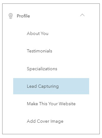 Real estate Lead capture forms