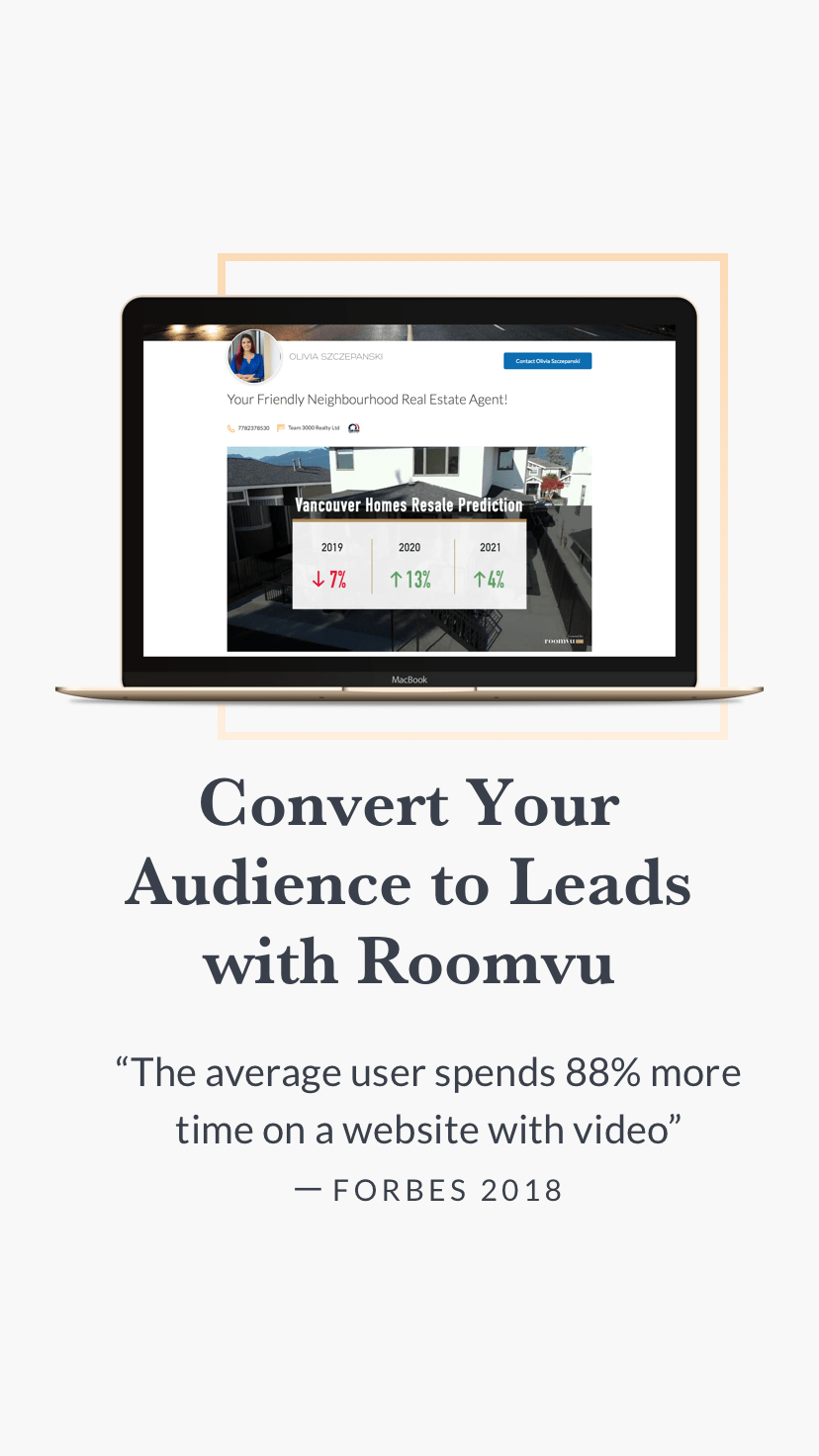 Sign Up with Roomvu